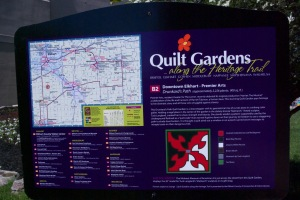 Quilt Gardens sign