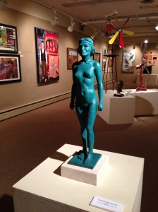 Transgender Kouros at the Midwest Museum of American Art in Elkhart, Indiana